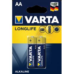 2x Piles AA Varta LongLife...