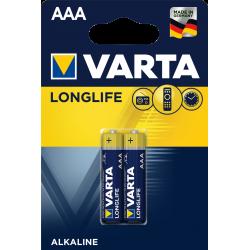 2x Piles AAA Varta LongLife...