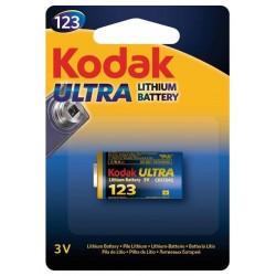 Pile Kodak Ultra Lithium CR 123 3V