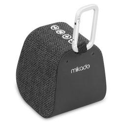 Haut Parleur de poche Bluetooth Mikado Freely K6 / 5W / Noir