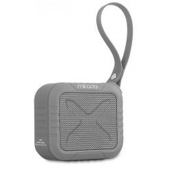 Haut Parleur de poche Bluetooth Etanche Mikado HANDY / 5W / Gris