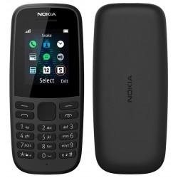 Téléphone Portable Nokia 105 / Double SIM / Noir