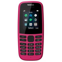 téléphone portable Nokia 105 Rose