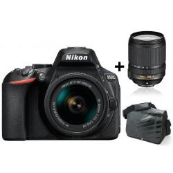 Réflex Numérique Nikon D5600 + Objectif Nikkor 18-140MM + Sacoche