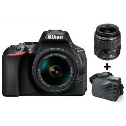 Réflex Numérique Nikon D5600 + Objectif Nikkor 18-55MM + Sacoche
