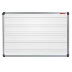Tableau Blanc magnétique avec des lignes 200 x 100
