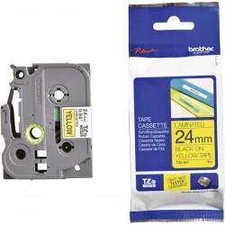 Cassette à Ruban Brother TZe-651 / Noir