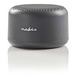Haut-Parleur Bluetooth Nedis / Gris