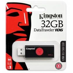 Clé USB Kingston Kingston DataTraveler DT106 / USB 3.1 / 32 Go