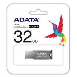 Clé USB Adata UV250 / 32 Go / Silver