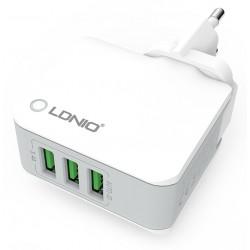 Chargeur secteur LDNIO A3303 3x USB 3.4A / Blanc