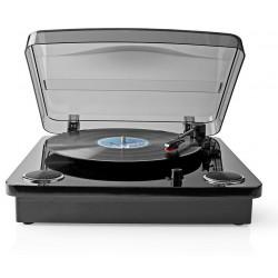 Platine Vinyle Bluetooth Nedis TURN300BK / Noir