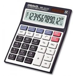 Calculatrice de bureau 12 chiffres OSALO OS-9813C