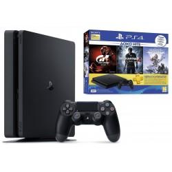 Console Playstation 4 Slim / 500 Go + 3 Jeux