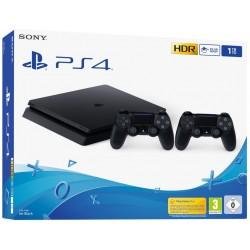 Console Playstation 4 Slim / 1 To + Manette DualShock 4 Noire V2