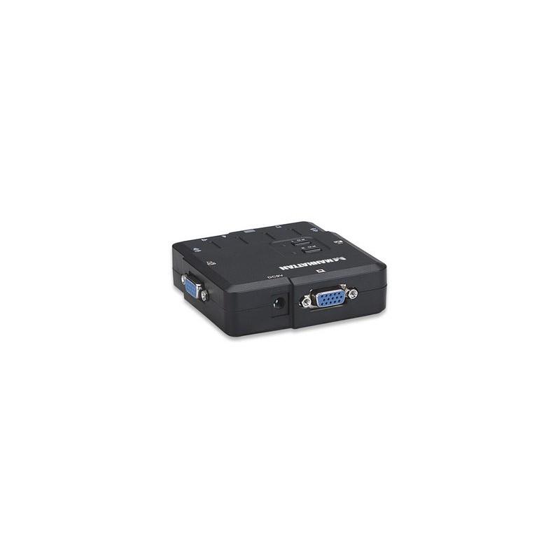 Commutateur KVM compact 2 ports