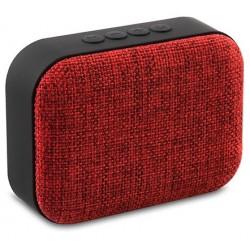 Haut Parleur de poche Bluetooth Mikado BTX3 / 3W / Rouge