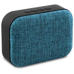 Haut Parleur de poche Bluetooth Mikado BTX3 / 3W / Bleu