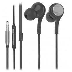 Écouteurs avec Micro Snopy SN-X04 EPSILON / Noir & Gris