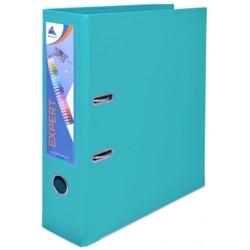 Classeur à levier OfficePlast Expert Dos 80mm / Turquoise