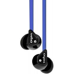 Écouteurs intra-auriculaires Veho Z-1 / Bleu