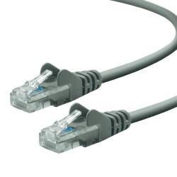 Câble RJ45 Cat6 UTP 0.5M Gris