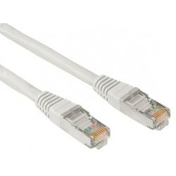 Câble RJ45 Cat 5E SFTP 0.5M Gris