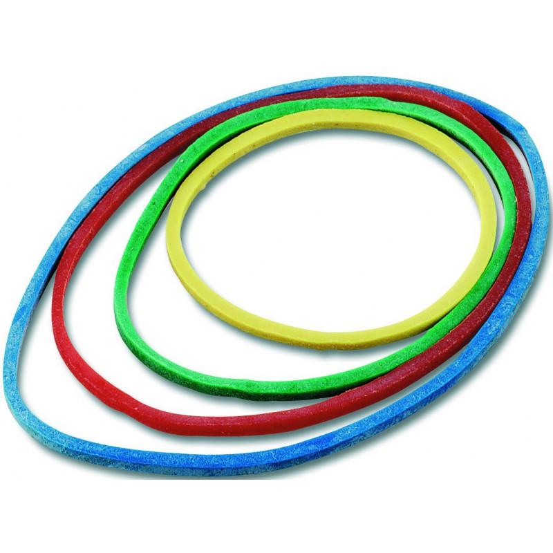 Bracelets Caoutchouc élastiques 50g / Assortis