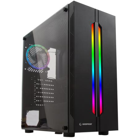 PC de bureau Gamer RED / i5 8é Gén / 8 Go / GTX 1650 4G