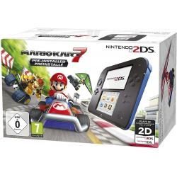 Console Nintendo 2DS / Noir & Bleu + Mario Kart 7