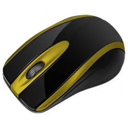 Souris Optique USB Macro M555 / Noir & Jaune