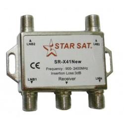 Switch Diseqc 4x1 SamSat SR-X41