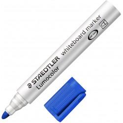 Marqueur pour tableaux blancs pointe ogive STAEDTLER Lumocolor 351 / Bleu
