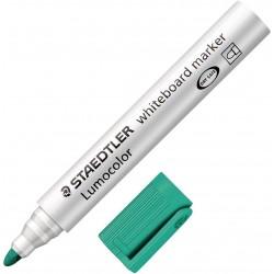 Marqueur pour tableaux blancs pointe ogive STAEDTLER Lumocolor 351 / Vert