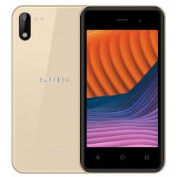 Téléphone Portable Evertek M10 Lite / 3G / Double SIM / Gold + SIM Offerte 40 Go