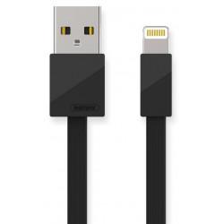 Câble Remax USB vers Lightning Plat / Noir