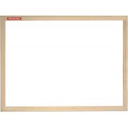 Tableau Blanc magnétique avec cadre en bois Memoboards / 100 x 80
