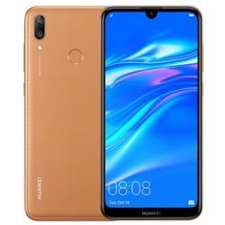 Téléphone Portable Huawei Y7 Prime 2019 / 4G / Double SIM / 64 Go / Marron + SIM Orange 50 Go