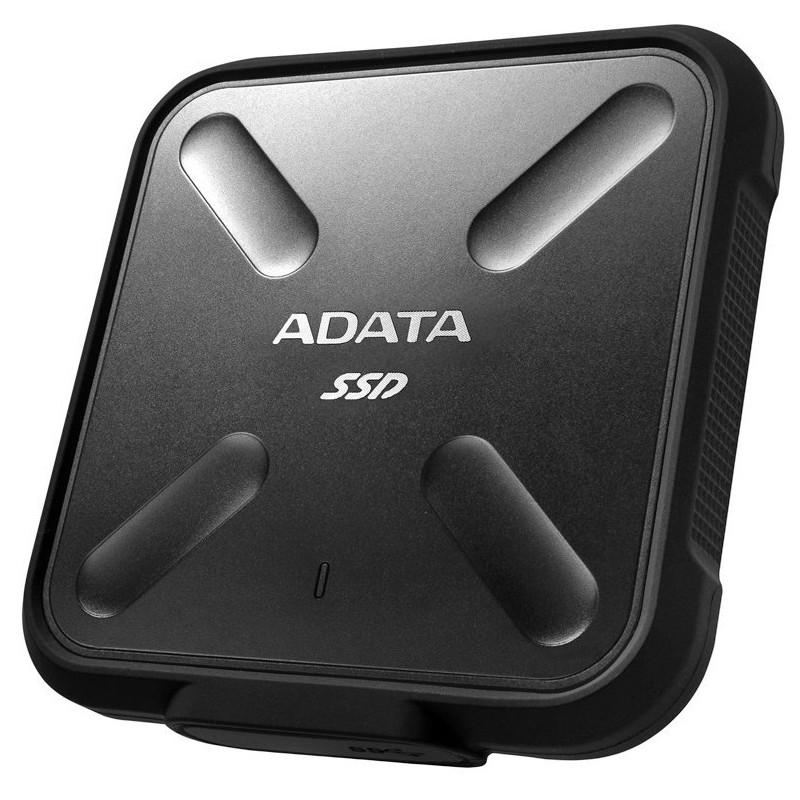DISQUE DUR EXTERNE SSD ADATA ASD700 / 256 GO / NOIR