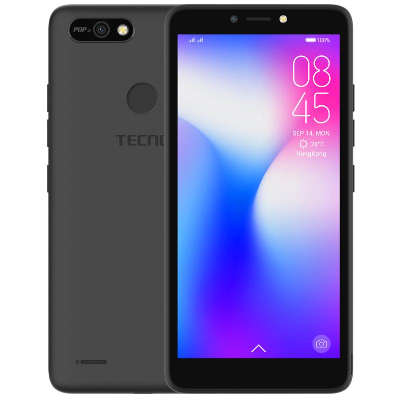 Tecno POP 2F / 3G / Double SIM / Noir - POP2F-BK