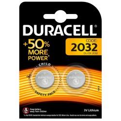 2x Piles Duracell DL2032 B2