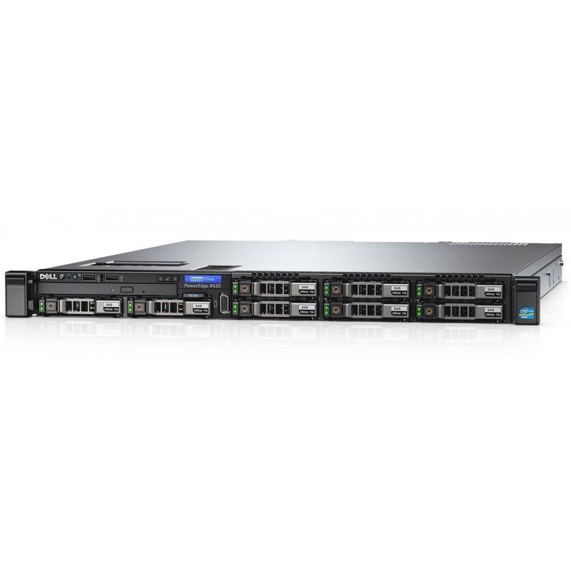Serveur Dell PowerEdge R430 Rack 1U / 2x 300 Go