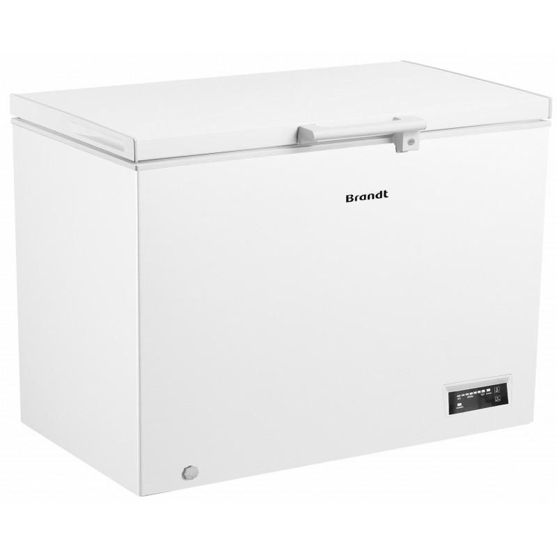 Congélateur coffre Brandt BFK747YSW / 400L / Blanc
