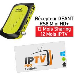 Récepteur GEANT RS8 Mini HD...