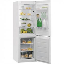 Réfrigérateur Combiné Whirlpool 339L 6ème Sens NoFrost Blanc