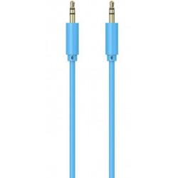 Câble jack jack  / 1m / Bleu