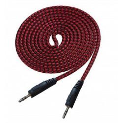 Câble jack jack  / 1m / Rouge