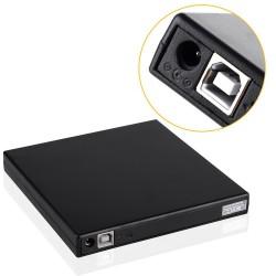 Graveur DVD externe Slim USB Noir