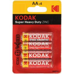 4x Piles Kodak Super Heavy...