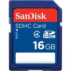Carte Mémoire Sandisk SD Memory 16 Go